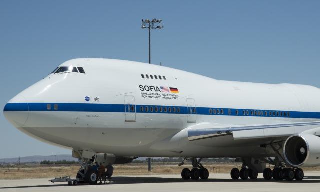 NASA SOFIA plane