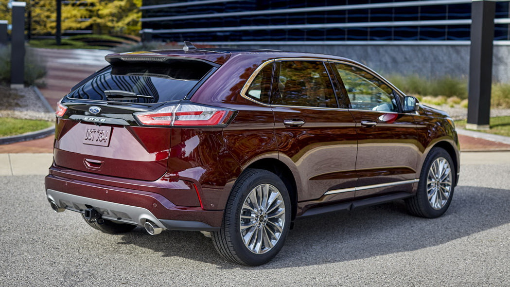 圖/2021 Ford Edge預計將提供更多車輪、顏色與內飾讓消費者選擇。