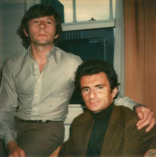 《異端鳥》羅曼·波蘭斯基和原著作者科辛斯基合影