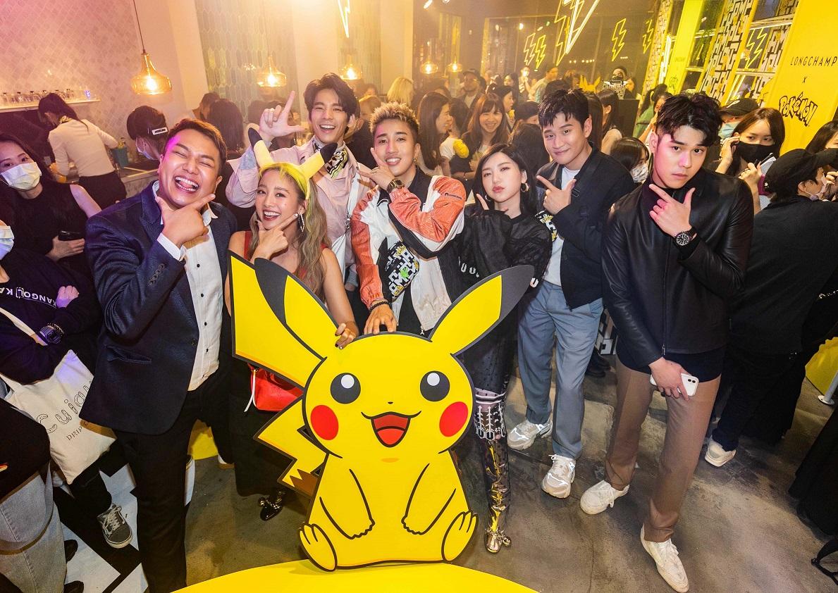 Longchamp x Pokémon聯名系列上市派對