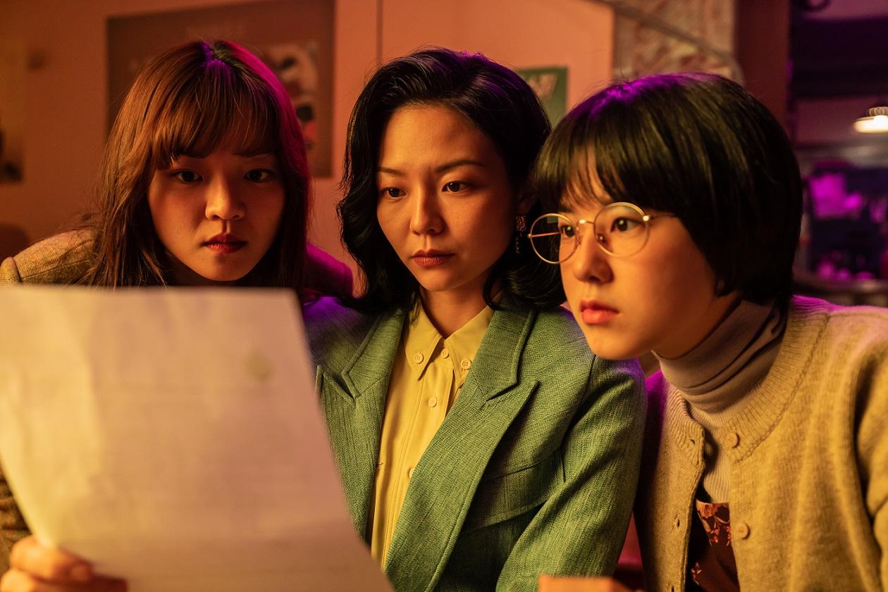 「女力三人組」高我星、李絮、朴惠秀重返90年代超感激!