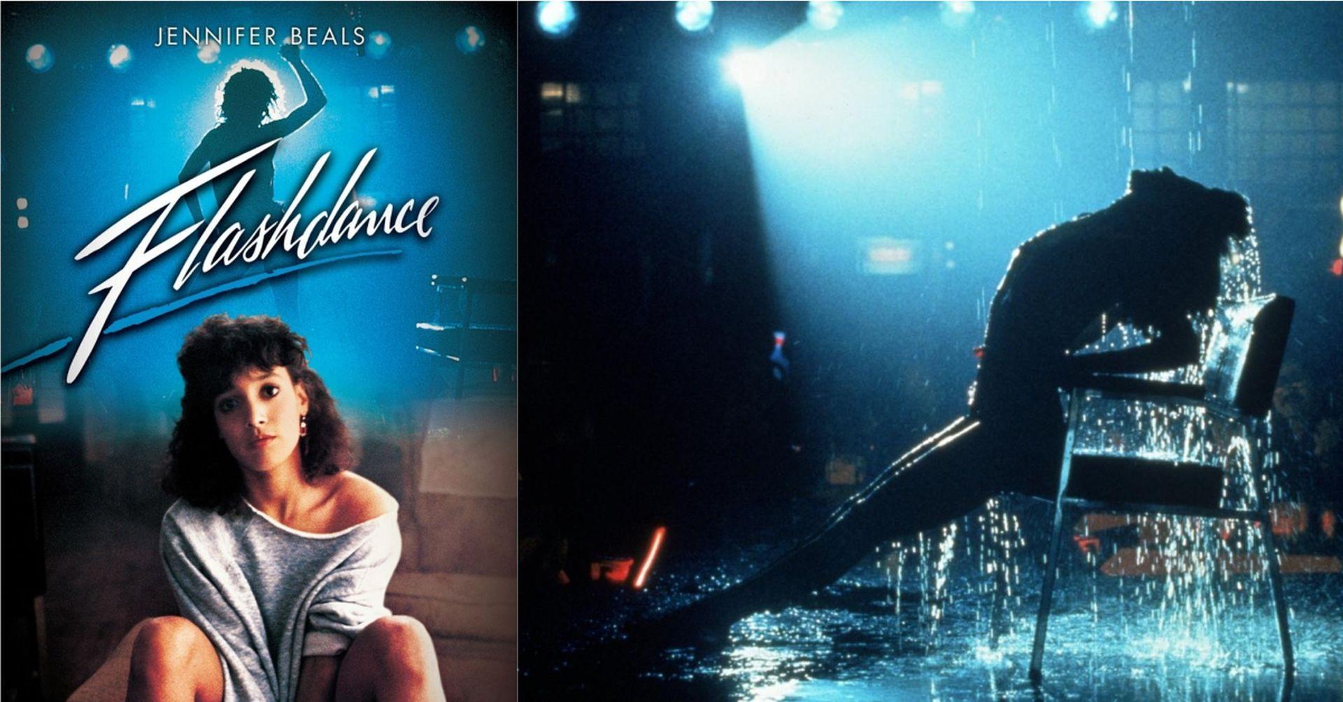 1983《閃舞》電影海報與劇照