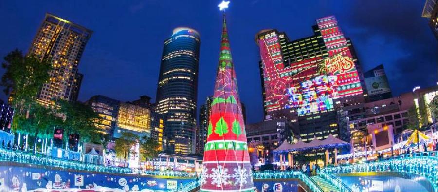 新北歡樂耶誕城(圖片來源:新北市政府觀光旅遊局)