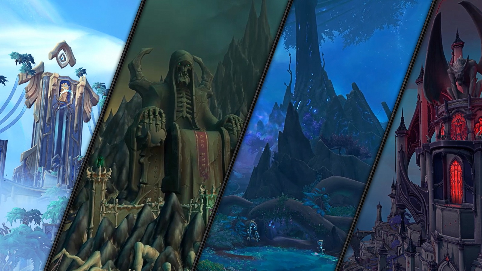 在《魔獸世界®》最新資料片《暗影之境》探索自己的命運