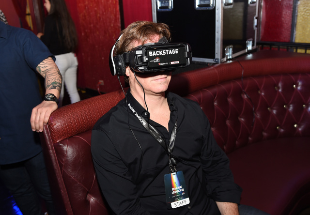 Imagine Dragons Live presented by Citi and Live Nation exclusively for Citi cardmembers and broadcast in VR via NextVR at The Belasco on June 15, 2017 in Los Angeles, California.