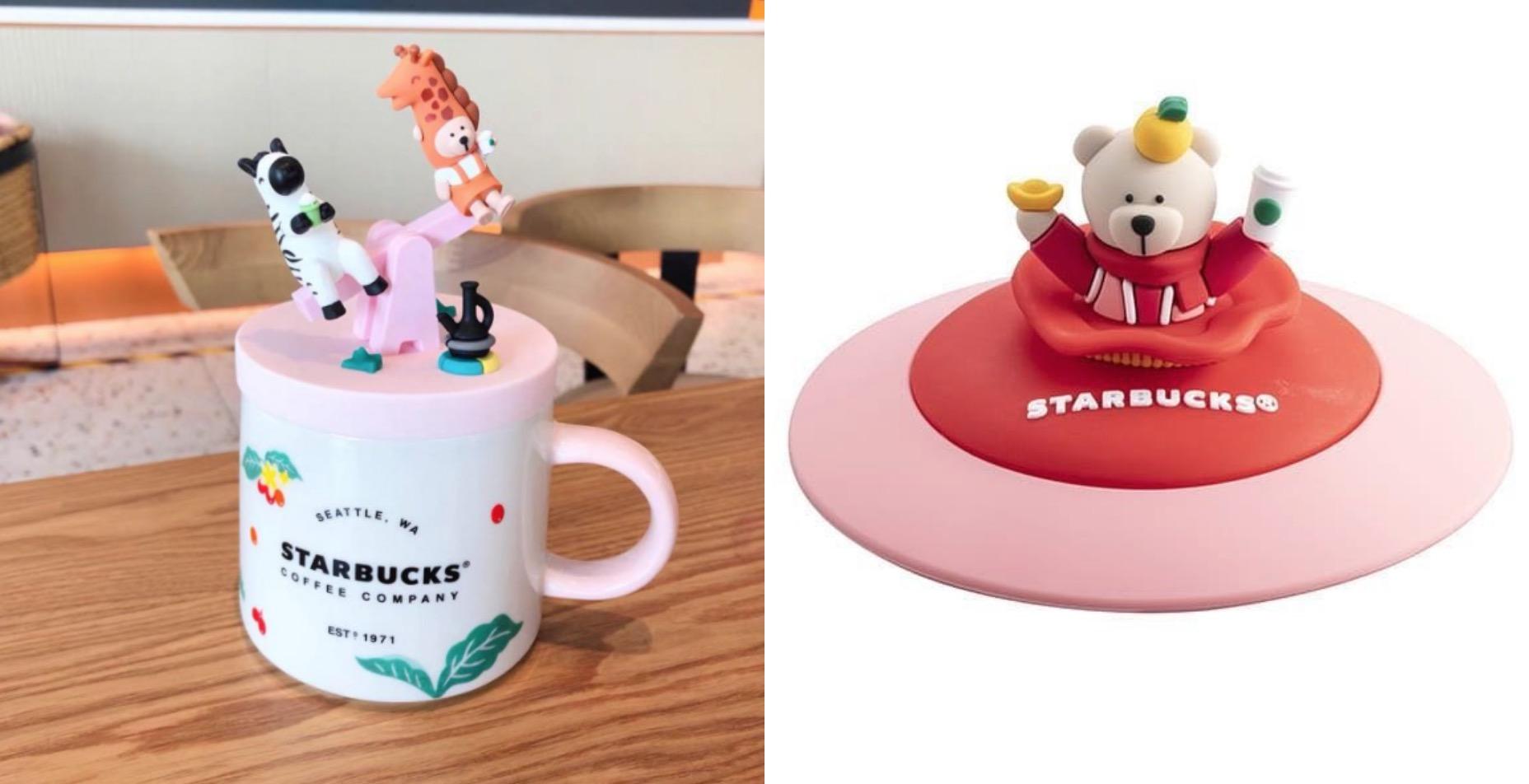 想要體驗更療癒的咖啡時光,除了馬克杯外一定要搭配小熊杯蓋,不但能防塵還能擁有好心情。