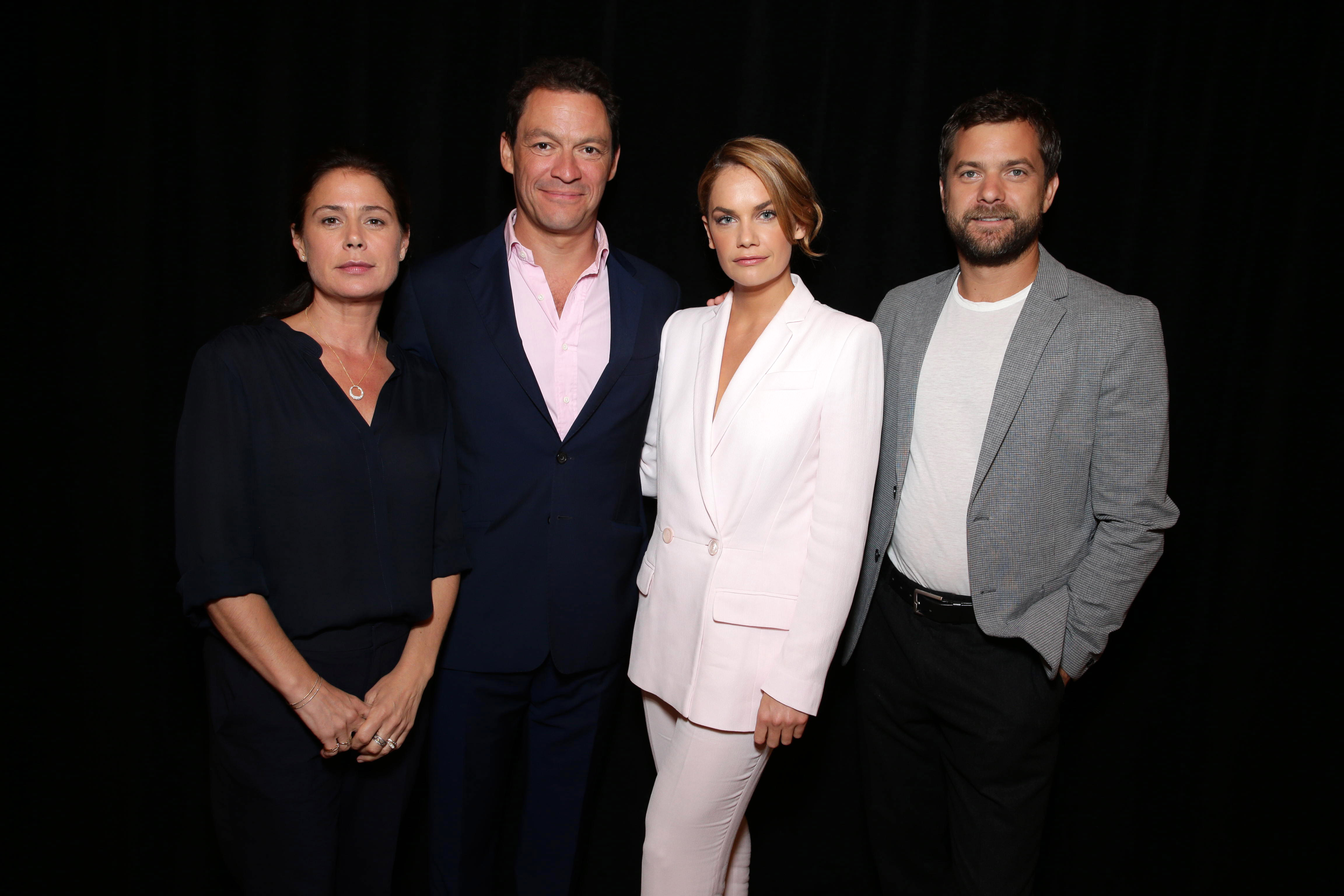 EXCLUSIVE - Maura Tierney, Dominic West, Ruth Wilson and Joshua Jackson seen at Showtime's 2015 Summer TCA held at The Beverly Hilton on Tuesday, August 11, 2015, in Beverly Hills. (Photo by Eric Charbonneau/Invision for Showtime/AP Images)