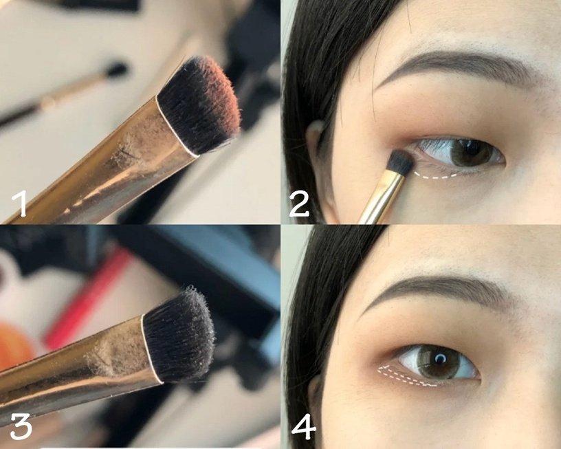 5步「快速消腫眼影眼妝」教學
