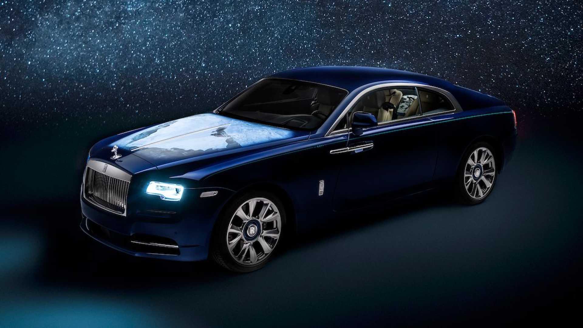 Rolls-Royce以中東為景、太陽系為靈感打造出了「Wraith─Inspired by Earth」