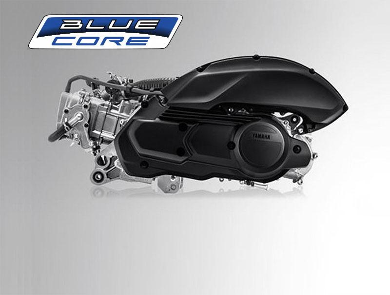 圖/2020 Yamaha NMAX 155 ABS採用配備水冷系統與可變汽門的BLUE CORE引擎,能提供兼具環保與駕馭樂趣的動力。