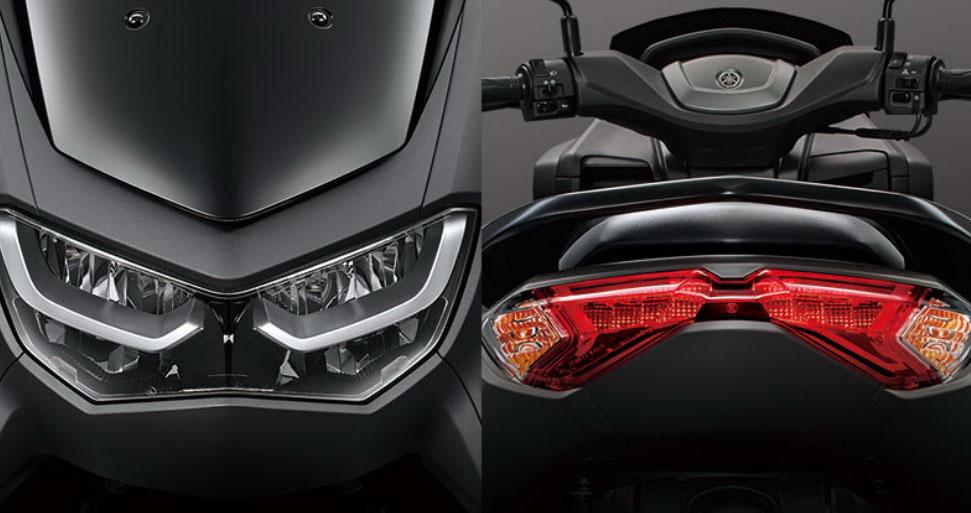 圖/2020 Yamaha NMAX 155 ABS設計上以「繭」為主要概念,在強化車架、提供親和包覆性與舒適騎姿之外,更重要是人車構成宛如「繭」般的穩定感。