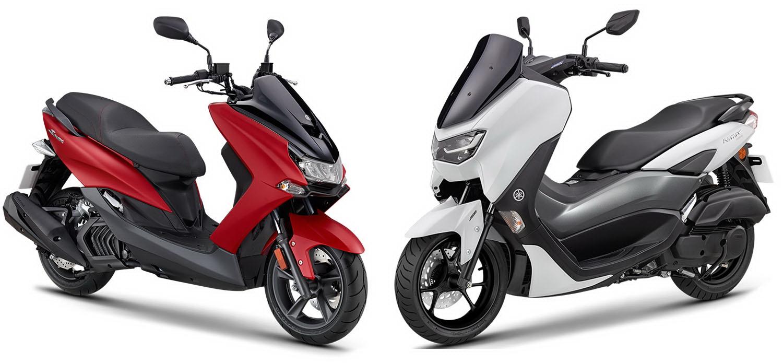 圖/Yamaha SMAX 155 ABS與NMAX 155 ABS之熟男夢幻座騎對決。