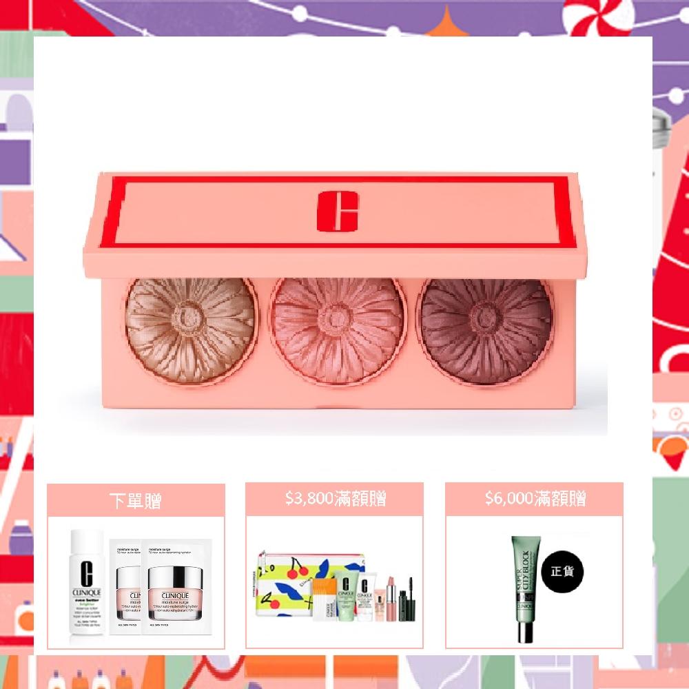 專利「慢火精緻烘焙技術」,讓腮紅由液狀轉為粉狀,顏色更為持久,同時提供最純淨自然的紅潤色調,絕對顯色不脫妝。