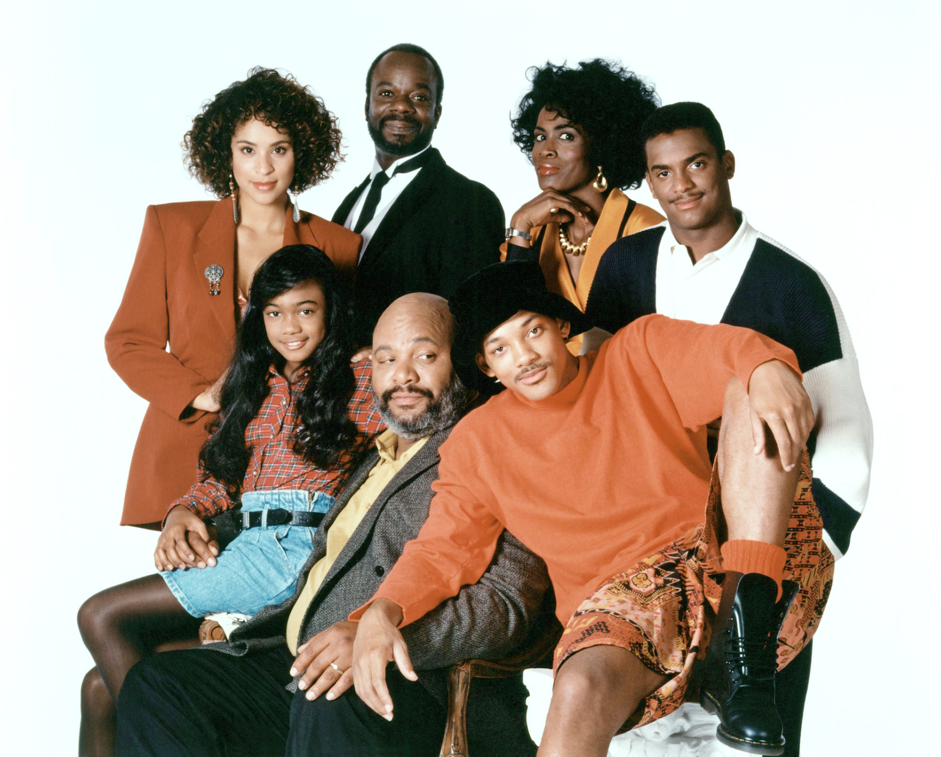 The original cast of 'The Fresh Prince of Bel-Air' (Photo: NBC/ Courtesy: Everett Collection)