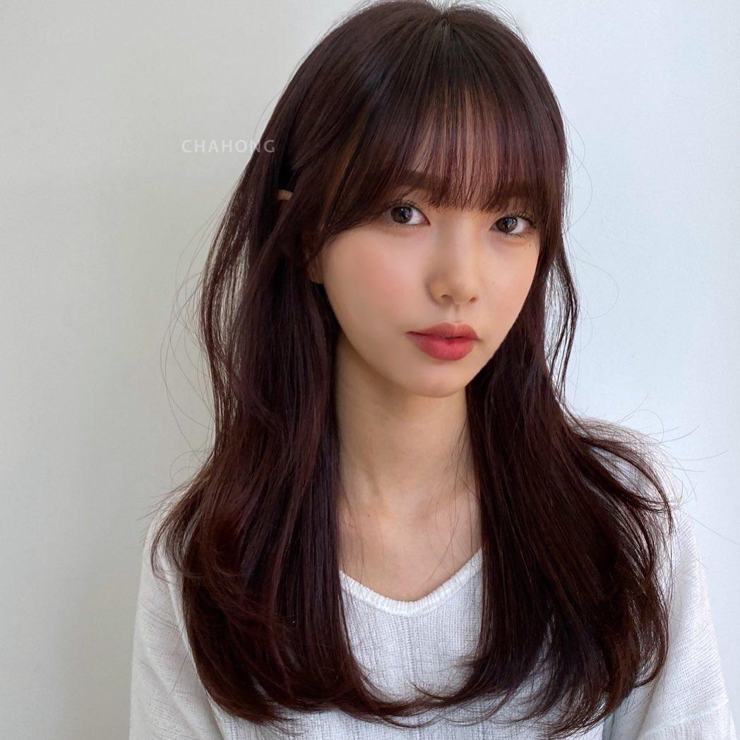 韓女子秋冬染髮指定「梅子布朗色」