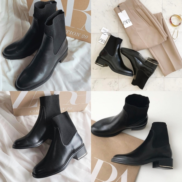 ZARA平價系『8款黑色短靴/長靴推薦』