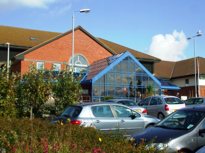 A picture of Nicole Elkabbas is said to have been taken after a gall bladder operation at the Spencer Hospital in Margate. (Geograph)