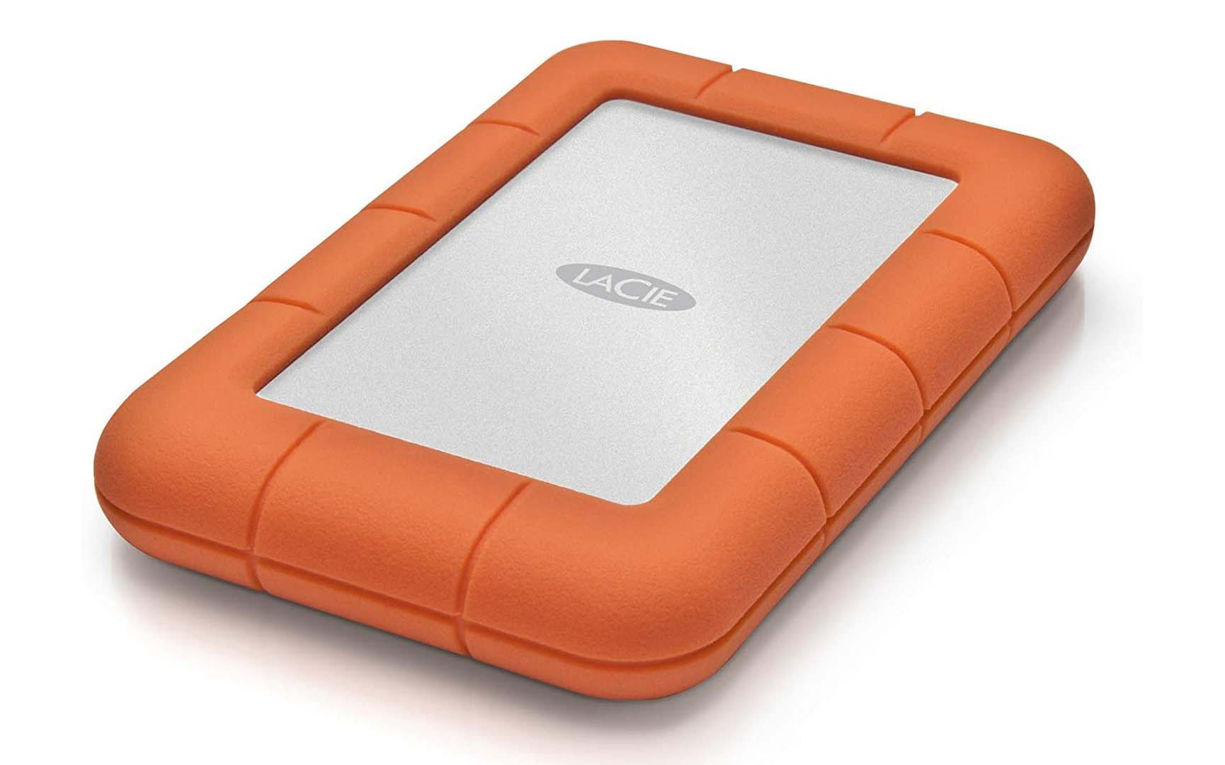 LaCie Rugged Mini 1TB External Hard Drive Portable HDD