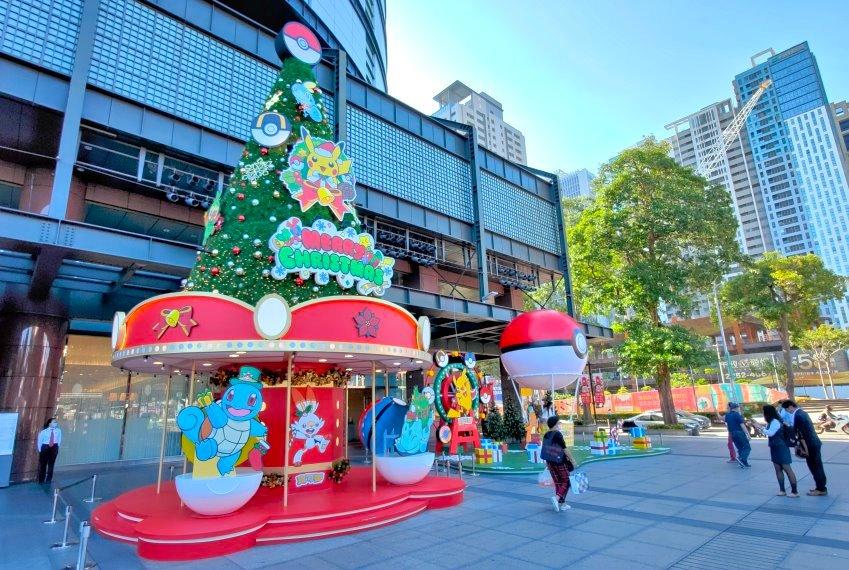 台中新光三越|寶可夢耶誕樂園
