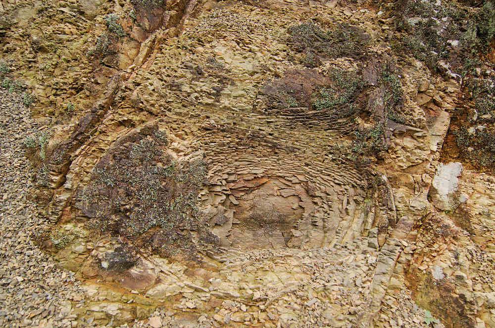 洋蔥狀風化(圖片來源:行政院農業委員會林務局)