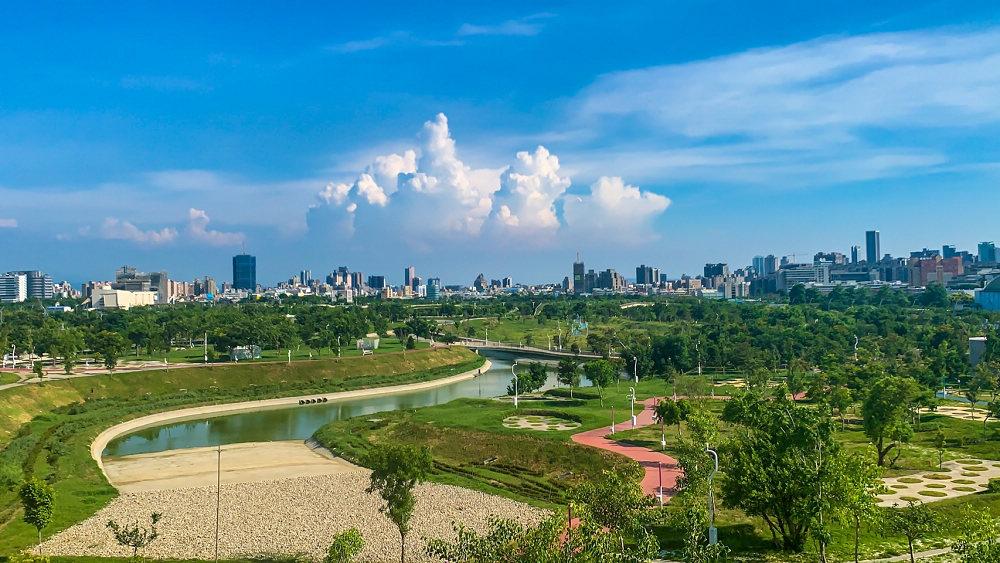 中央公園空照(圖片來源:台中市政府建設局)