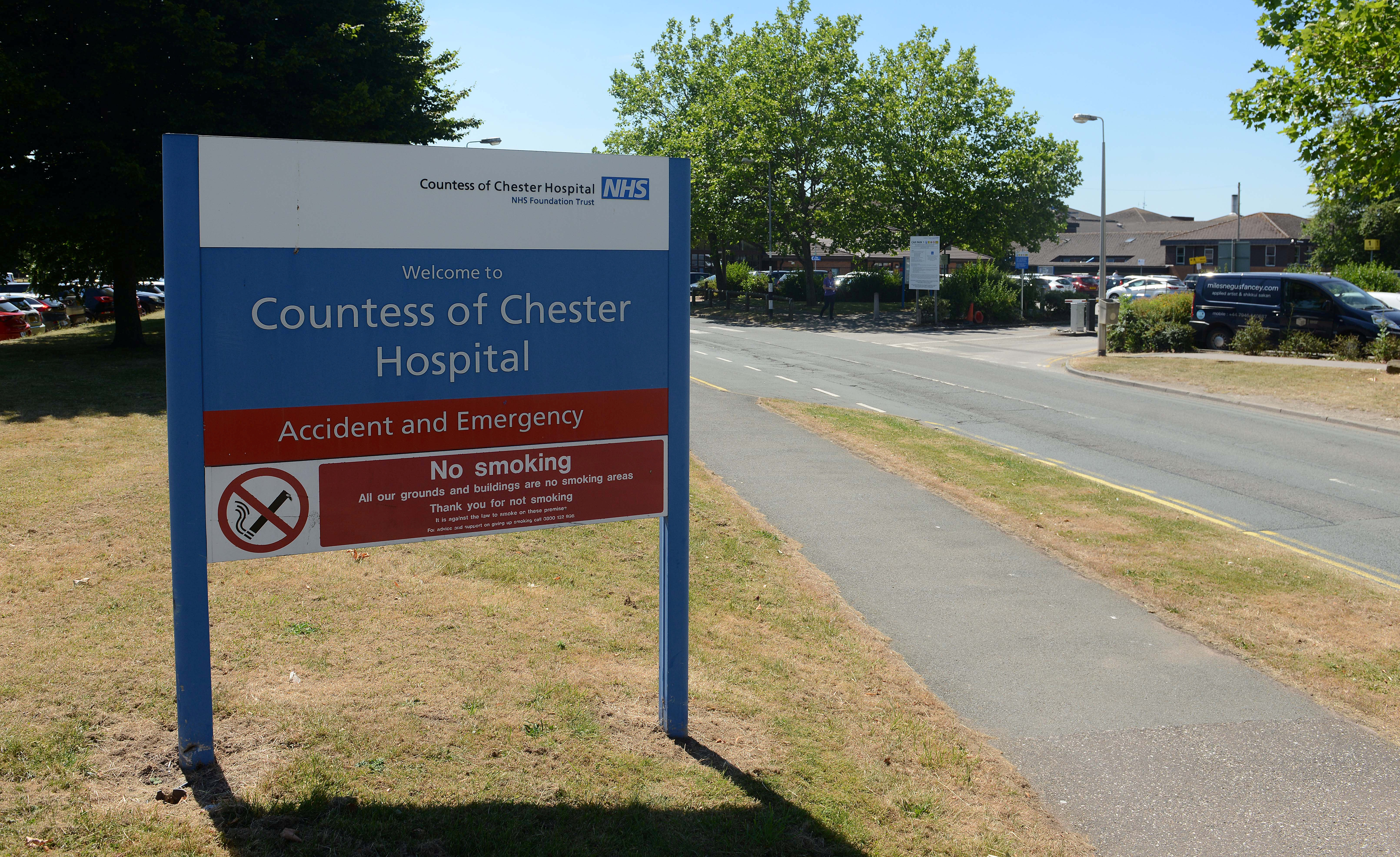 An investigation into baby deaths at Countess of Chester Hospital was launched in 2017. (SWNS)