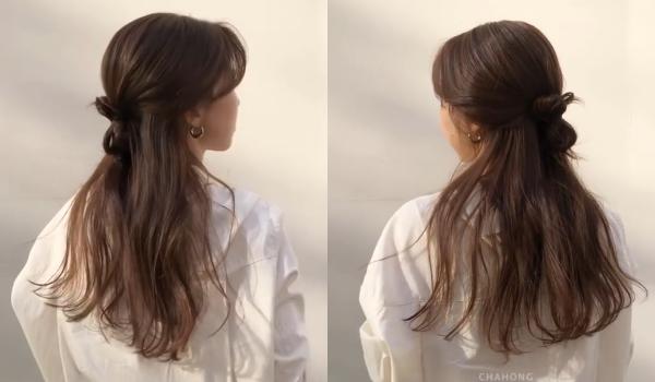 韓國女大生「減齡綁髮圖鑑」