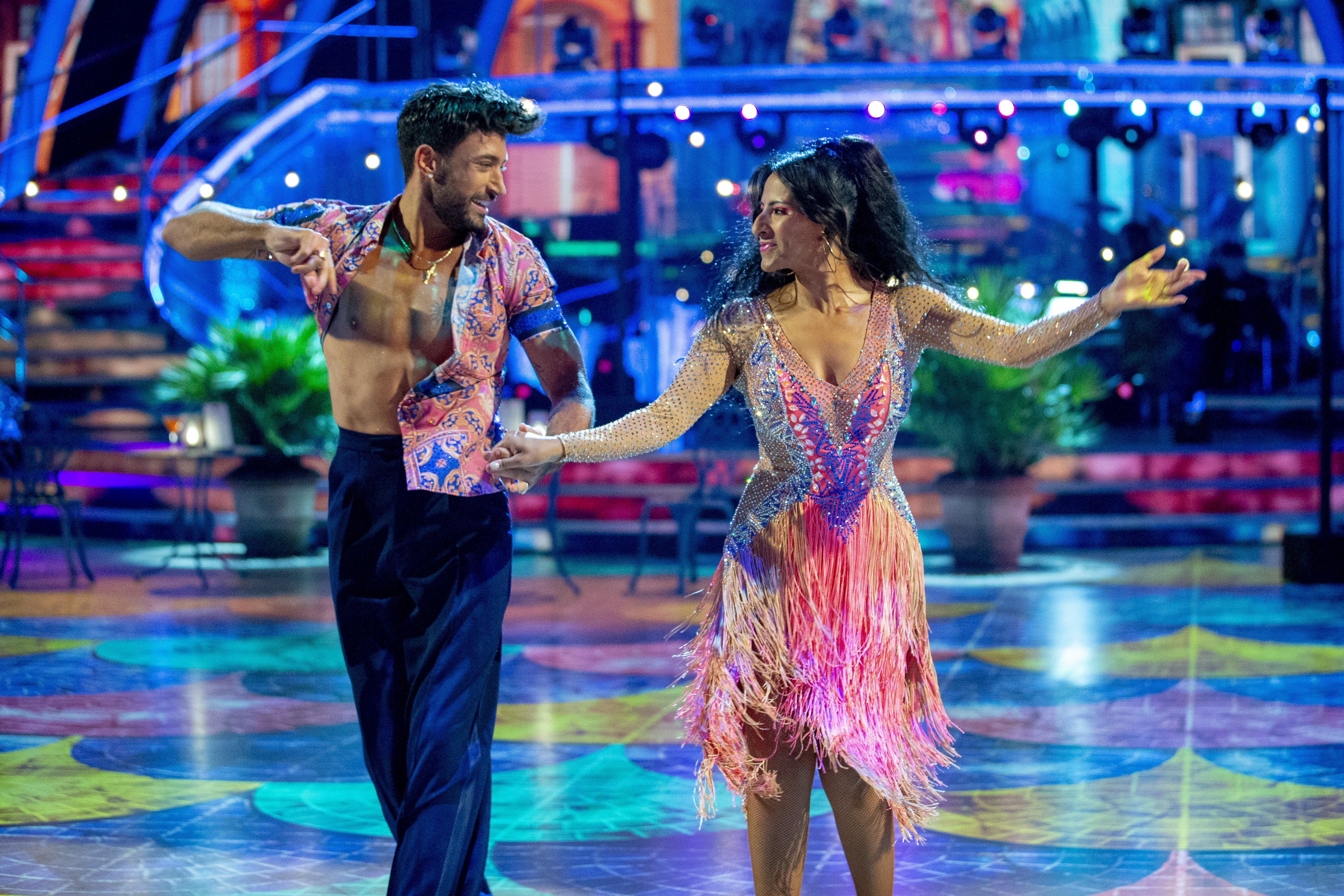Ranvir and Giovanni's sizzling chemistry on the Strictly dance floor has set tongues wagging. (BBC)