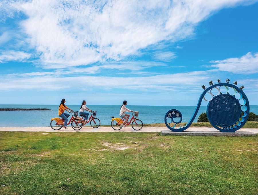 雙灣自行車道(圖片來源:交通部觀光局北海岸及觀音山國家風景區管理處)