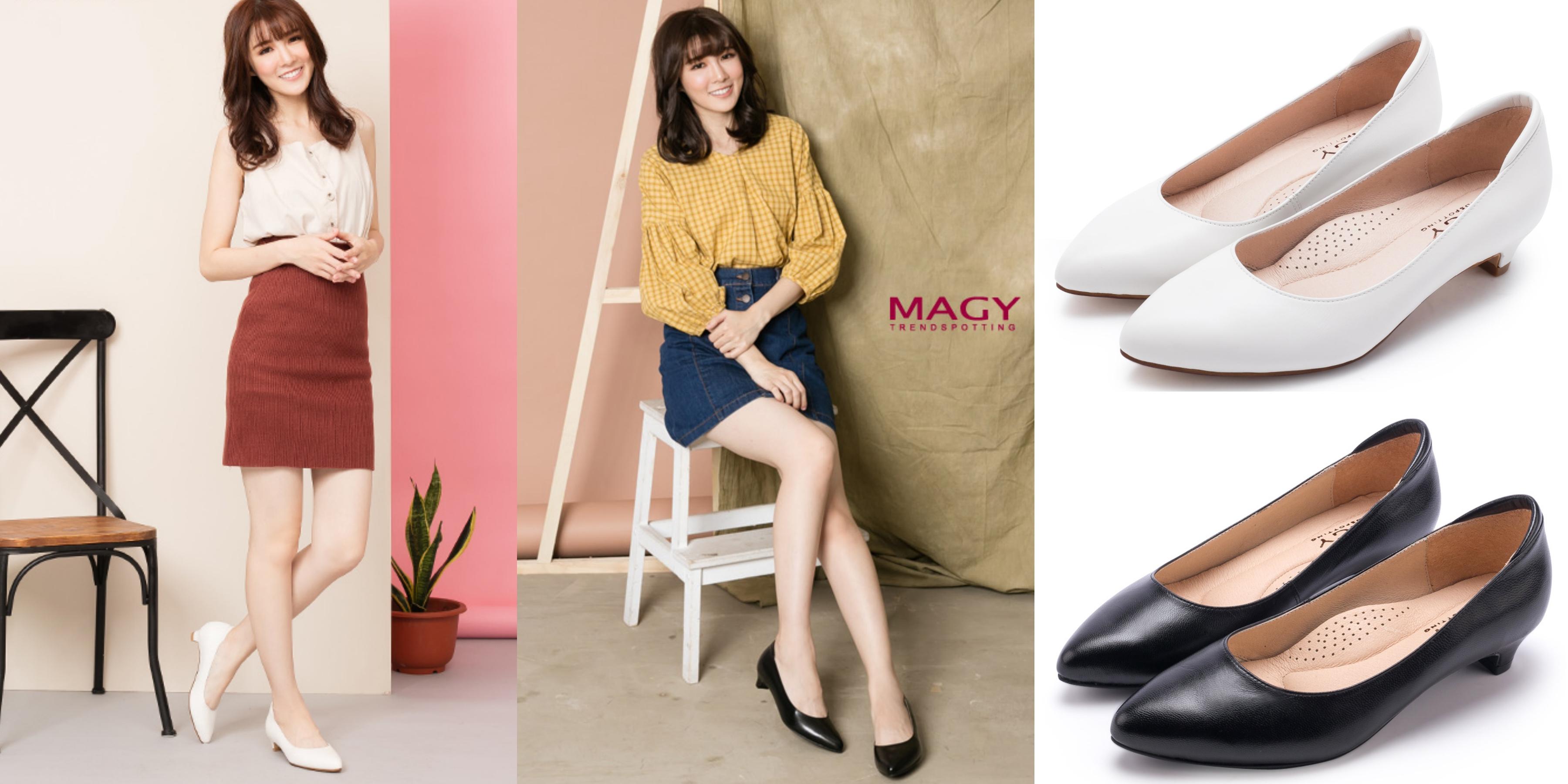 完美鞋緣線條設計,可拉長線條,增添女性柔美風情