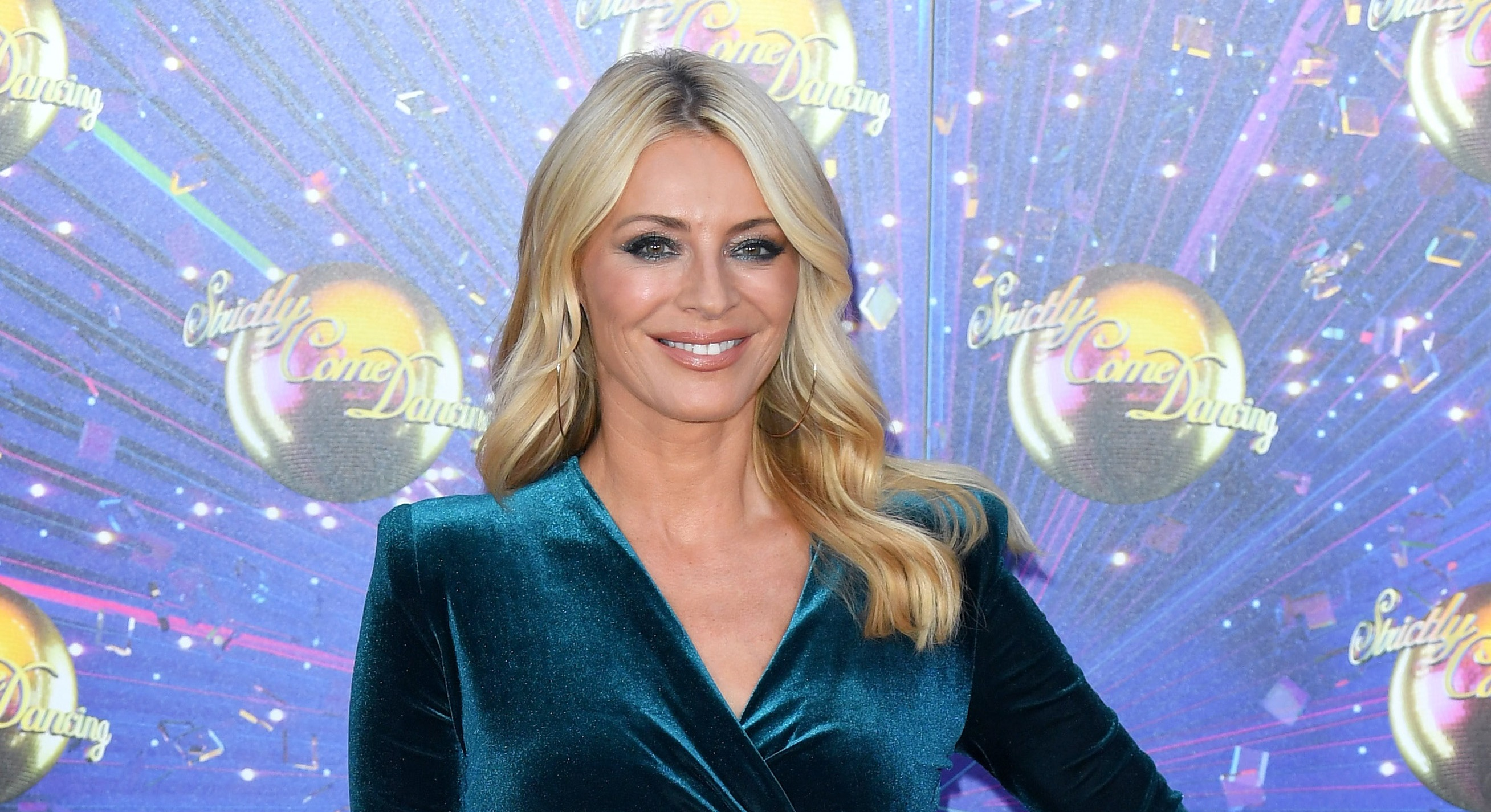 Tess Daly wowed viewers with her latest Strictly Come Dancing look. (Getty Images)