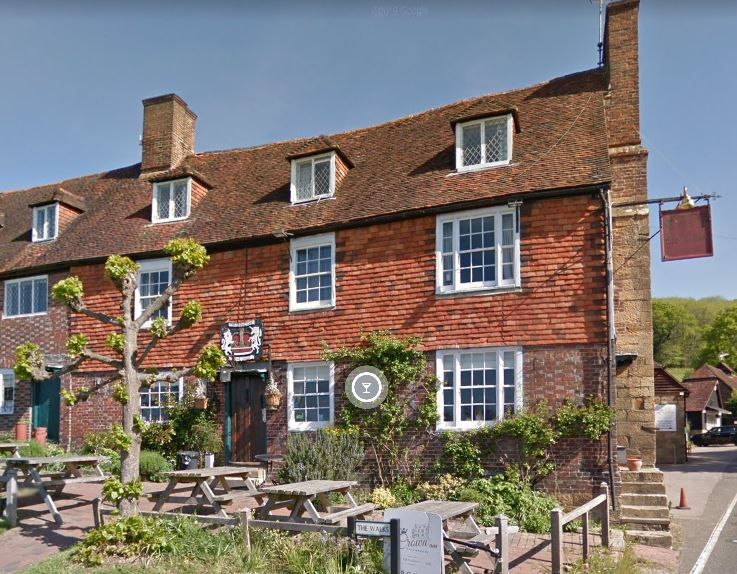 The Crown Inn, in Kent, cannot open to customers (Google Maps)