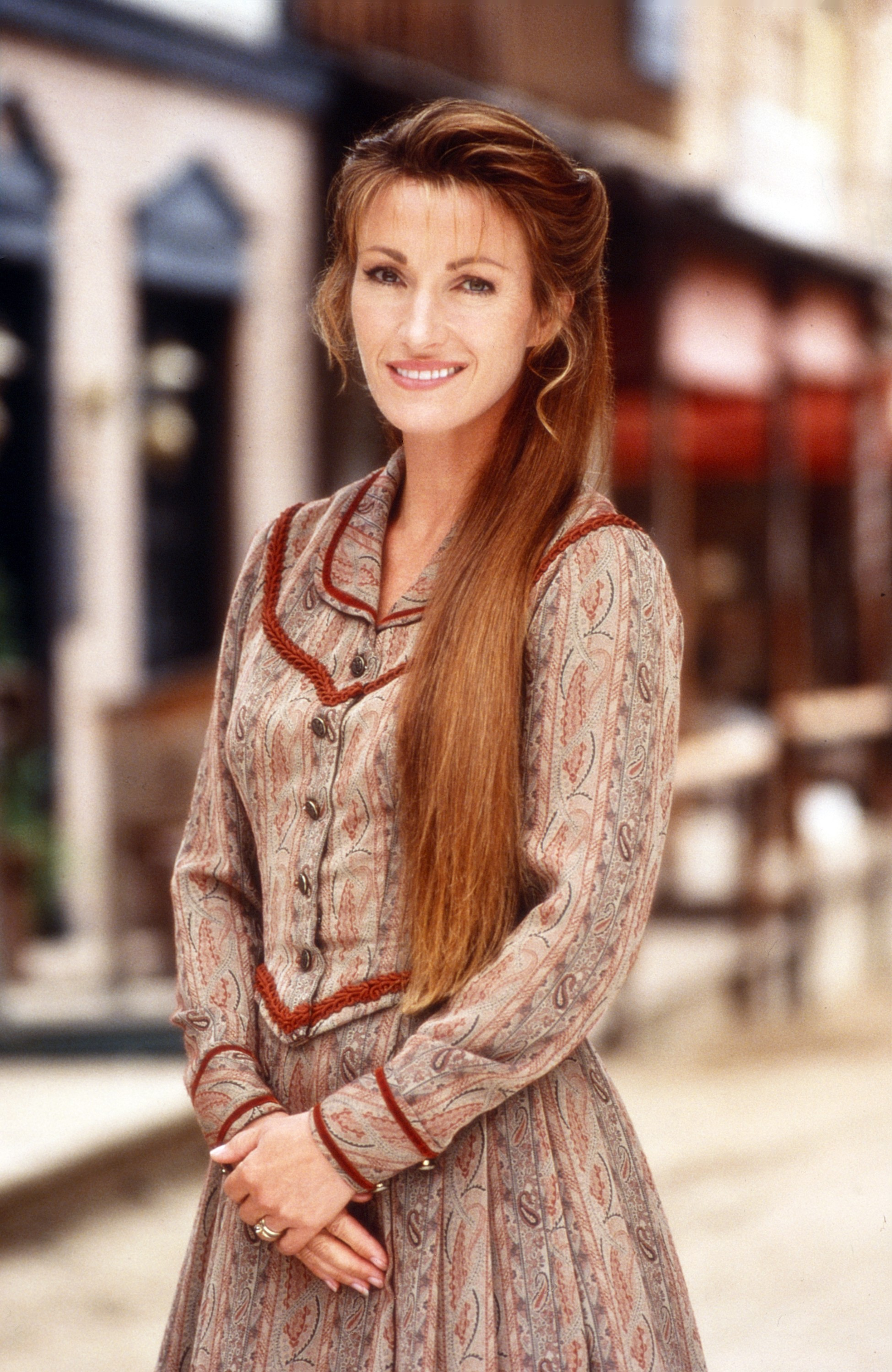 "Jane Seymour starred on ""Dr. Quinn, Medicine Woman"" from 1993 to 1998. (Photo: Bill Reitzel /© CBS /Courtesy Everett Collection)"
