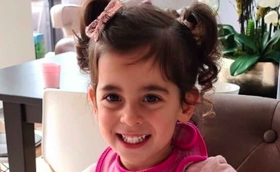 Sadie Salt, two, died after choking on a piece of sausage at her nursery. (JustGiving)