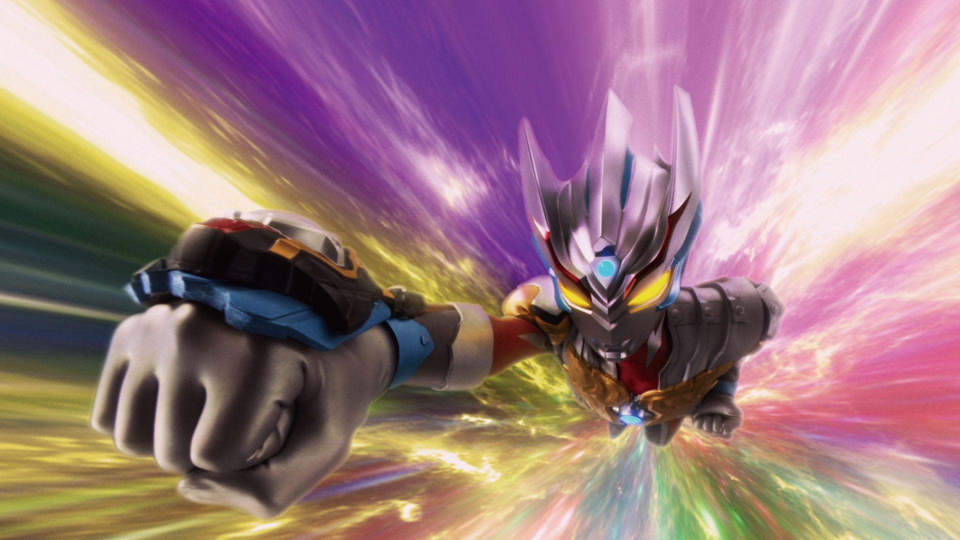 為了擊退怪獸葛利姆德 集結新世代超人力霸王眾人之力的超人力霸王「令河」誕生01