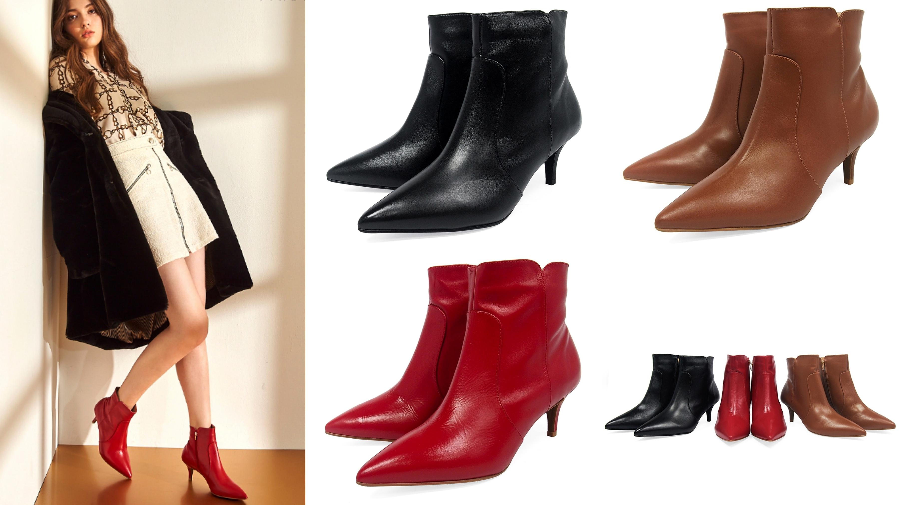 巴西原裝進口!極簡短靴注入時尚元素