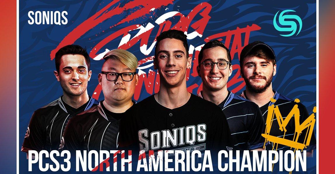 PCS3 北美冠軍 – Soniqs