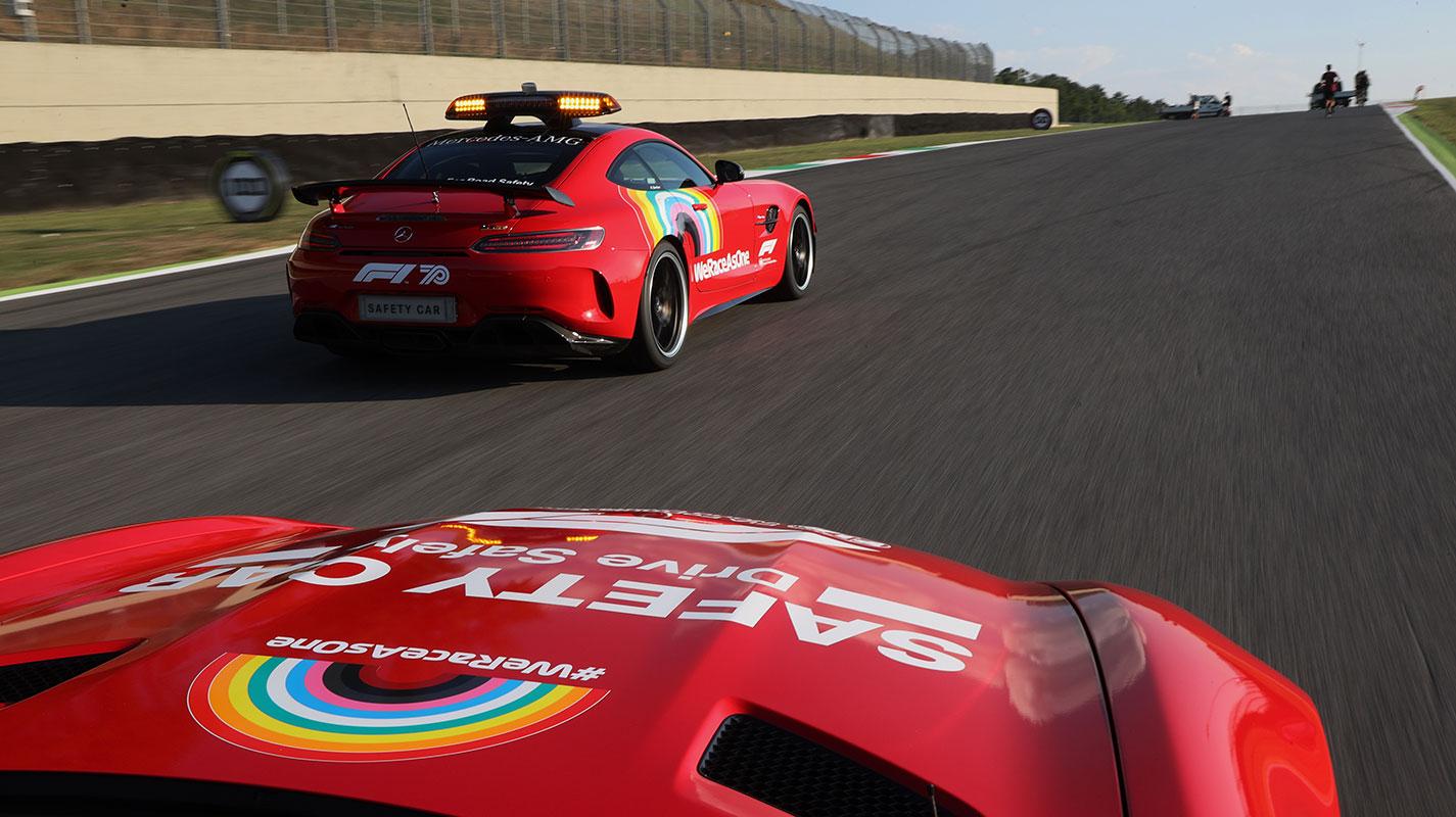 明年起Aston Martin與Mercedes共享Safety Car勤務