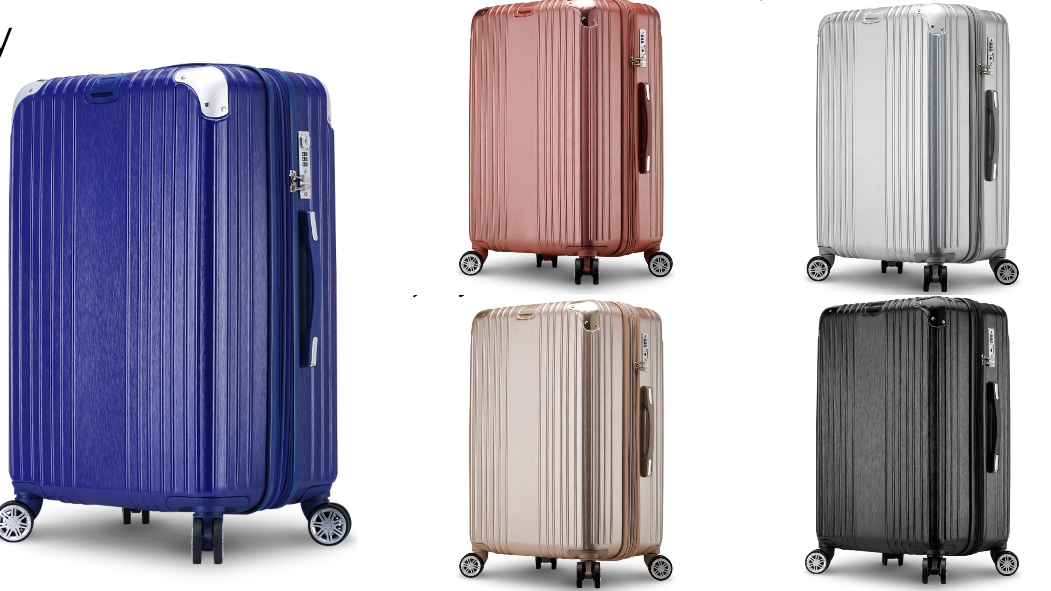 時尚瘋旅遊必備♡輕奢行李箱