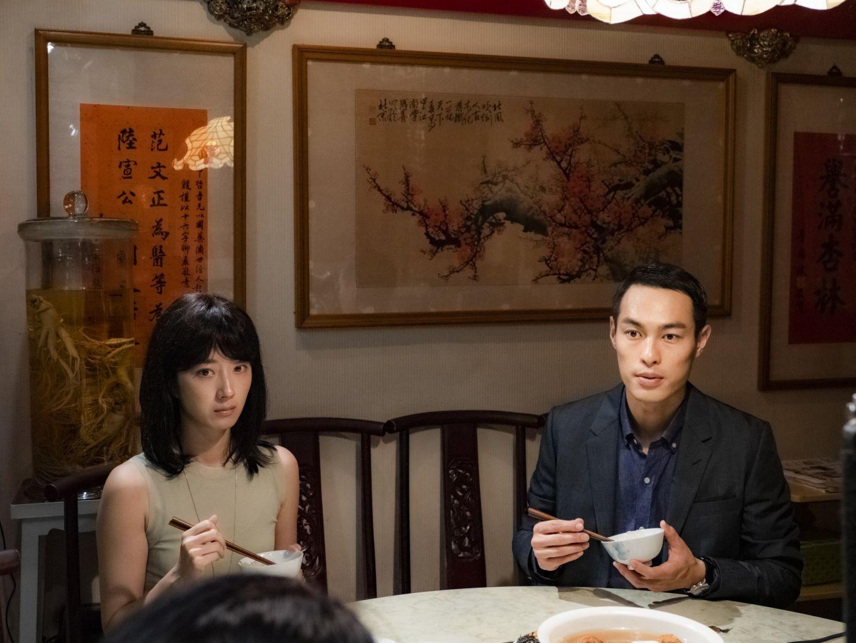 楊祐寧戲中初次見桂綸鎂父母一起吃飯