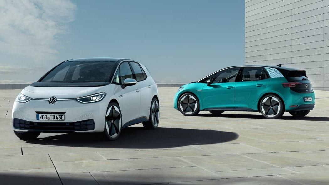 圖/Volkswagen計劃在未來5年內,將投入350億美金於電動汽車研發,不難看出搶攻市場的決心。