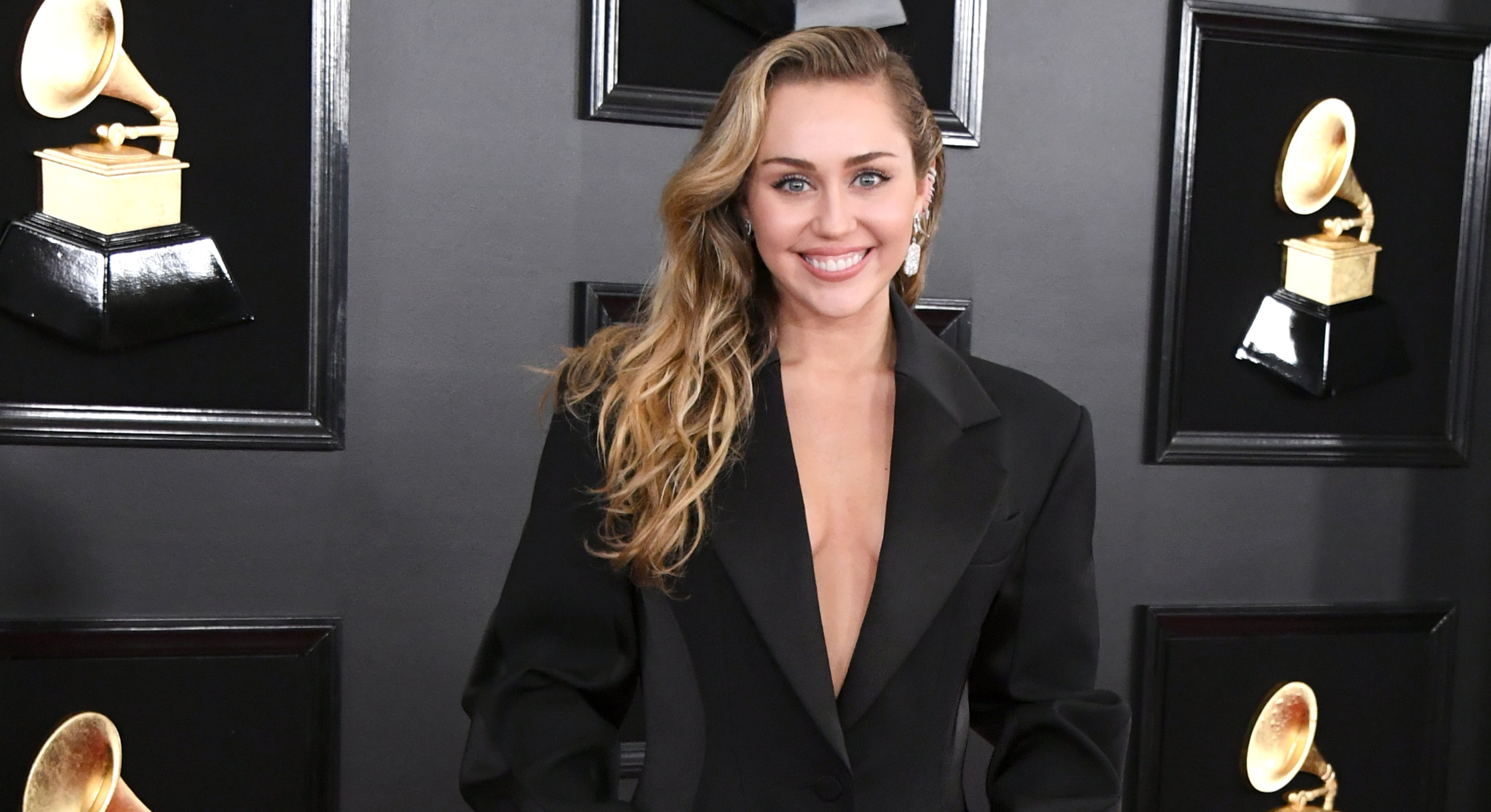 Miley Cyrus at the 2019 Grammy Awards (Getty)