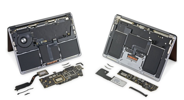 iFixit MacBook M1 teardown