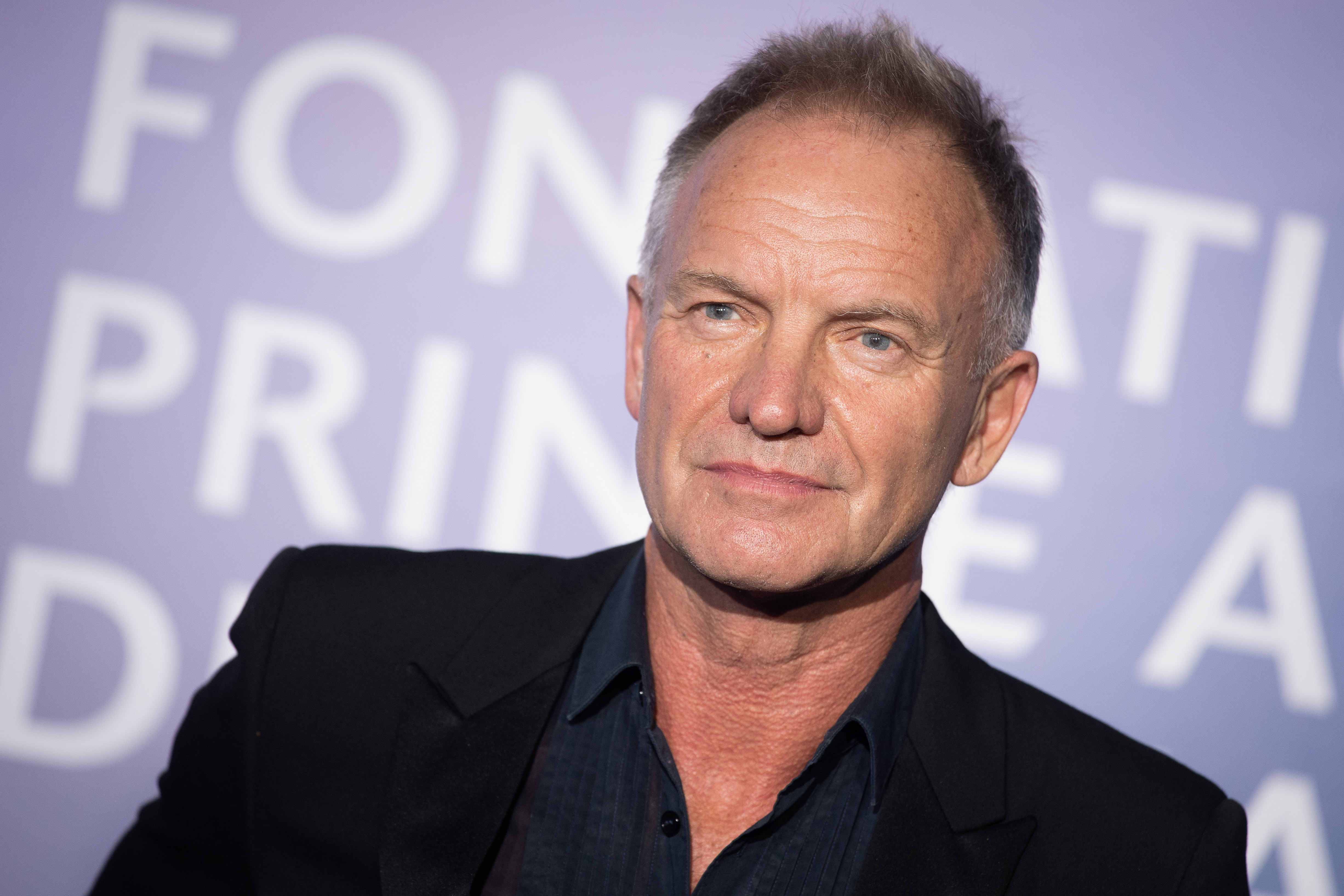 MONTE-CARLO, MONACO - SEPTEMBER 24: Sting attends the Monte-Carlo Gala For Planetary Health on September 24, 2020 in Monte-Carlo, Monaco. (Photo by SC Pool - Corbis/Corbis via Getty Images)