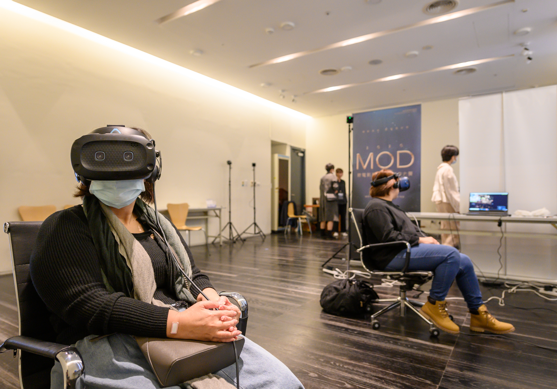 民眾踴躍預約報名VR影展體驗。圖:台北市電影委員會 提供