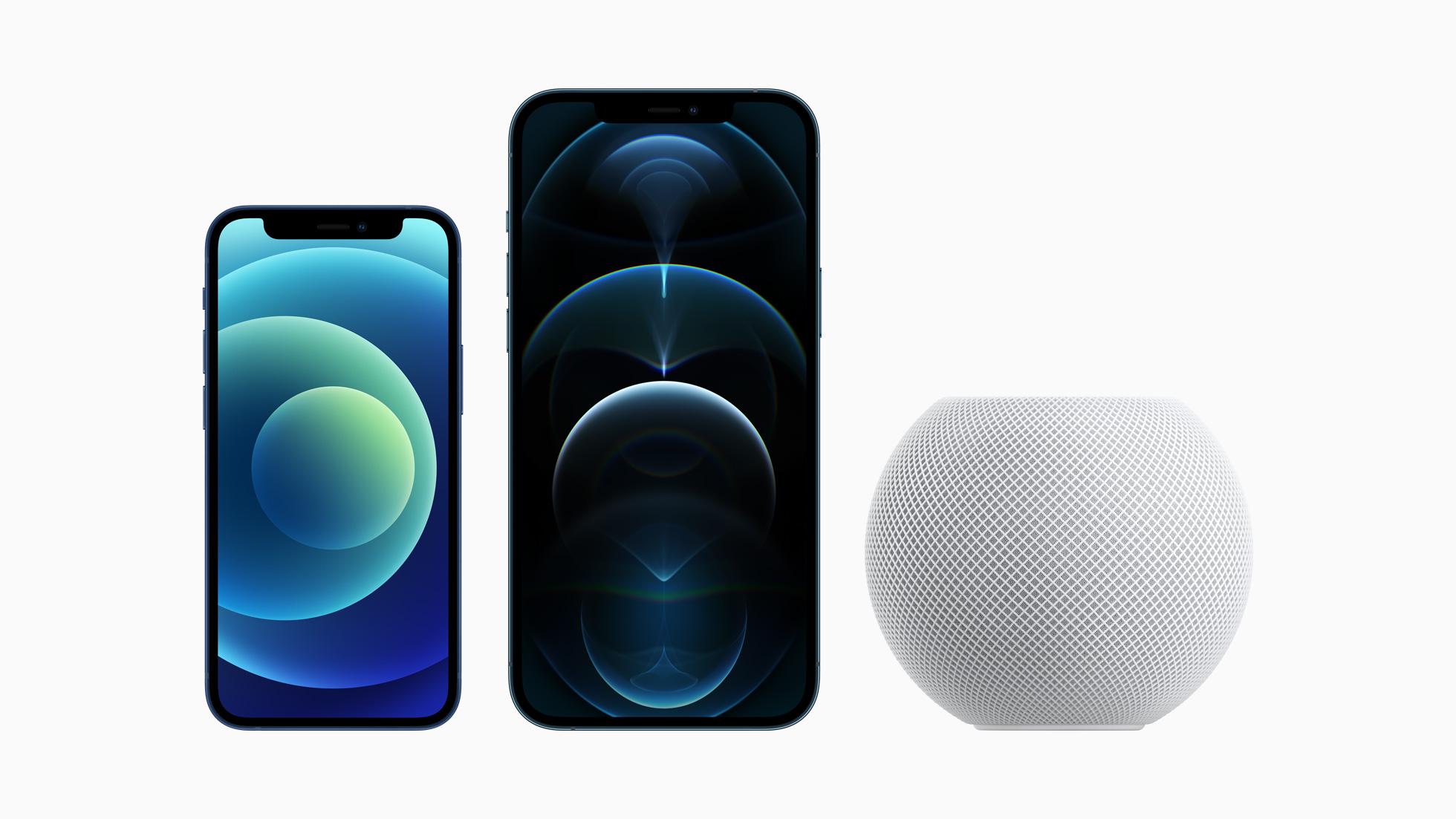 iPhone 12 Pro、12 mini、HomePod mini 已经正式接受订购
