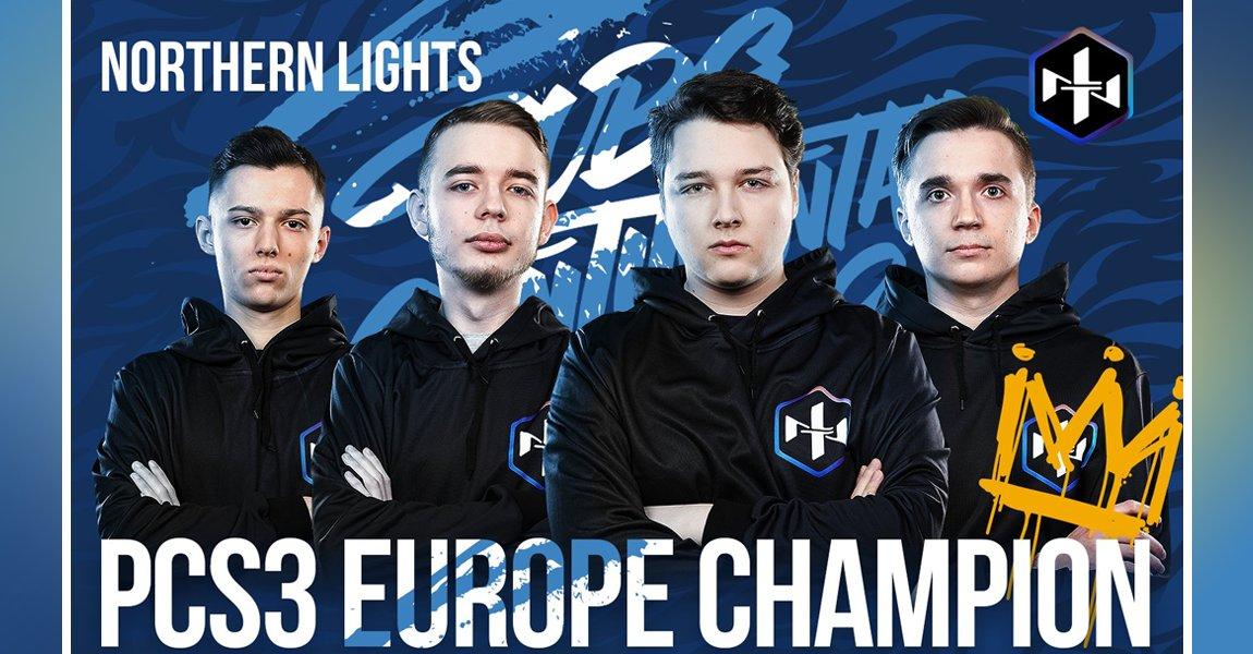 PCS3 歐洲冠軍 – Northern Lights