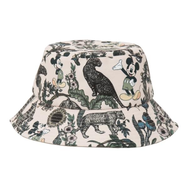 [Disney聯名限量款]忘憂叢林 米奇潮流造型漁夫帽(卡其)-Daniel Wong狂野夜想系列 20AW秀上造型款,為本此設計中的大人樣生活精品。