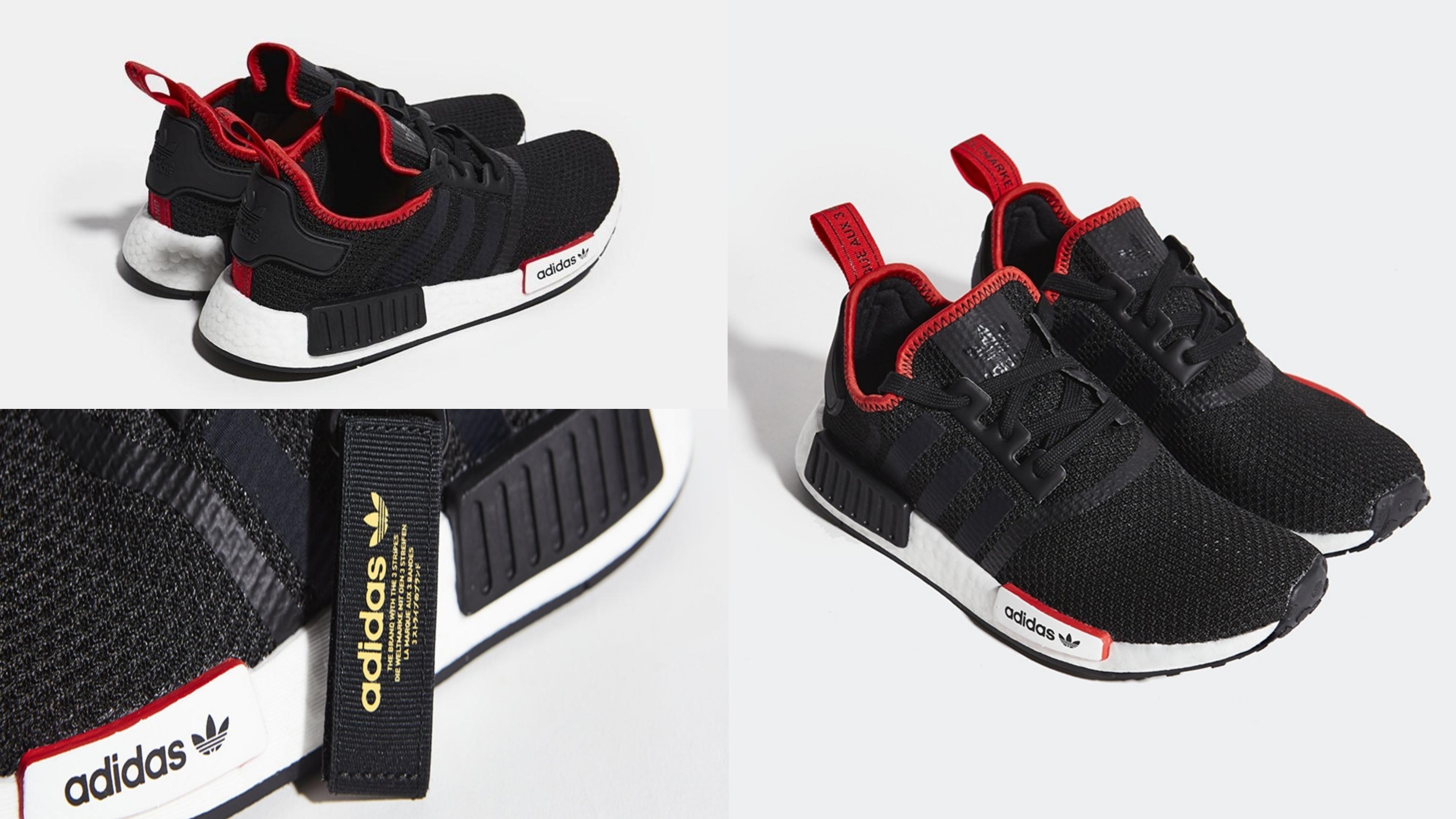 adidas NMD_R1 經典鞋 男/女 含Boost中底和襪套式鞋面,穿著舒適。
