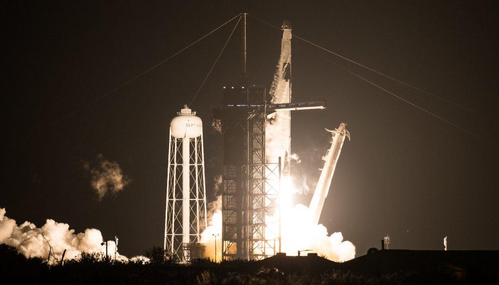 Crew 1 liftoff